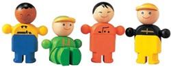 Plan Toys Plan City houten poppetjes Winkeliers