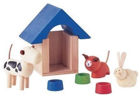 Plan Toys huisdieren en accessoires