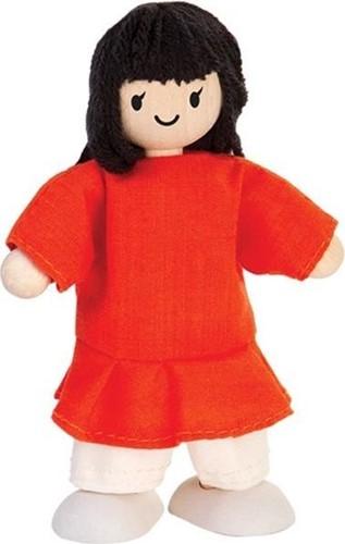 Plan Toys houten poppenhuis meisje