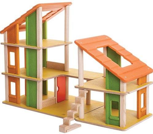 Plan Toys  houten poppenhuis poppenhuis Chalet