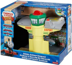 Thomas and Friends houten trein gebouw Sodor Zeppelin airport