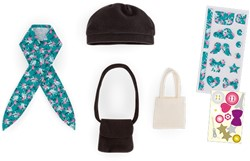 Corolle Ma Cherie accessoire Bags & Hat Set To Be Customized 33cm