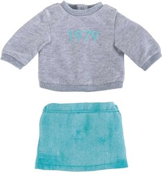Corolle poppenkleding Mc 1979 Skirt & Sweater FCH95