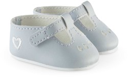 "Corolle poppenkleding Bb14"""" Ankle Strap  Shoes Grey FCW20"