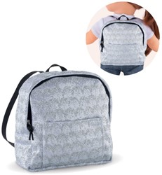 Corolle ma Corolle Backpack-Silvered