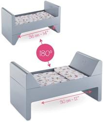 Corolle accessoire voor 30 cm, 36 en 42cm pop - Crib & Bed