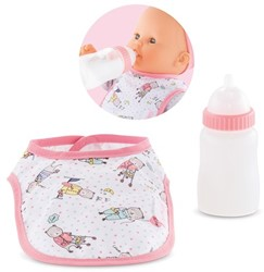 Corolle accessoire voor 36cm en 42cm pop -  Bib & Magic Milk Bottle