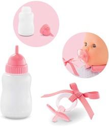 Corolle accessoire voor 36cm en 42cm pop - Pacifier & Feeding Bottle, Voedingsfles