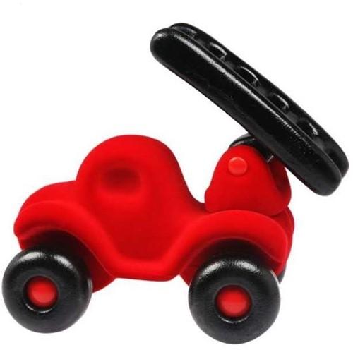 Rubbabu - Brandweerauto groot (rood)