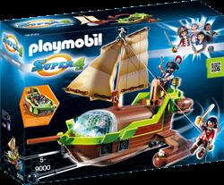 Playmobil Super 4  - Galjoen Kameleon met Ruby  9000