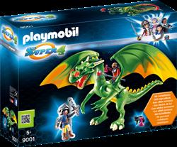 Playmobil Super 4  - Koningsland Draak met Alex  9001
