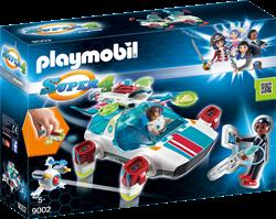 Playmobil Super 4 - FulguriX met Gene  9002