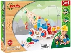 Baufix  houten constructie speelgoed Building with Tim