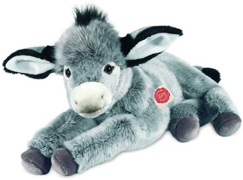Hermann Teddy Esel liegend 50 cm