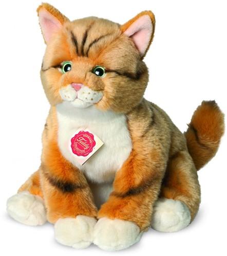 Hermann Teddy Katze rot getigert 30 cm