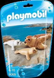 Playmobil Family Fun - Zeehond met pups  9069