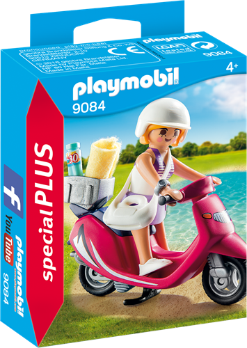 Playmobil Special Plus - Zomers meisje met scooter 9084