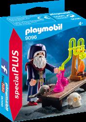Playmobil - Special Plus - Tovenaar met laboratorium