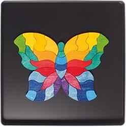 Grimm's magnetische houten puzzel Vlinder