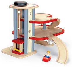 Plan Toys Plan City houten Parkeer garage
