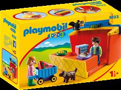 Playmobil - Playmobil 1,2,3 - 1.2.3 Meeneem marktkraam