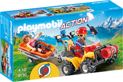Playmobil Action - Reddingsquad met draagberrie  9130