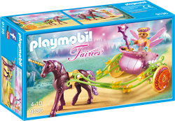 Playmobil Fairies - Bloemenfee met eenhoornkoets  9136