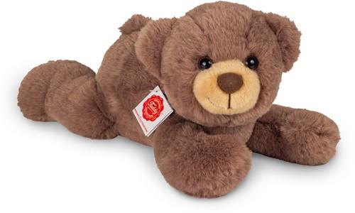 Hermann Teddy Teddy liegend schokobraun 32 cm