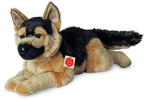 Hermann Teddy Schäferhund liegend 60 cm