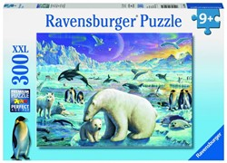 Ravensburger  legpuzzel Ontmoeting van de pooldieren - 300 stukjes