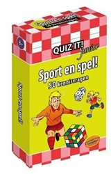 Planet Happy  leerkaarten Quiz it! Sport en spel!