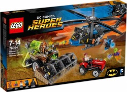 LEGO Super Heroes set Batman scarecrow zaait angst 76054