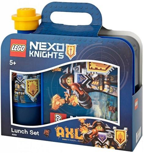 LEGO Nexo Knights Lunchset Print - Blauw