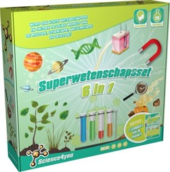 Science4you  wetenschapsdoos Superwetenschapsset 6-in-1
