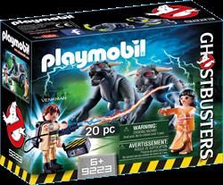 Playmobil Ghostbusters - Venkman en Terror Dogs  9223