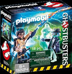 Playmobil Ghostbusters - Spengler en geest  9224