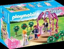 Playmobil City Life - Bruidspaviljoen met bruidspaar  9229