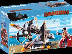 Playmobil Dragons Eret met viervoudige ballista 9249