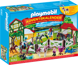Playmobil country Adventskalender Paardrijclub