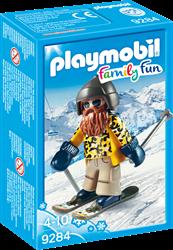 Playmobil Family Fun Skiër op snowblades 9284
