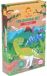 Tiger Tribe Colouring Sets - Dinosaur