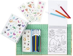 Tiger Tribe Colouring Sets - Animals All Stars