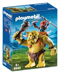 Playmobil Knights Reuzentrol met soldatendwerg 9343