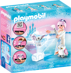Playmobil ice princess prinses IJsbloem 9351