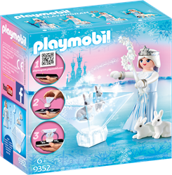 Playmobil ice Princess prinses Glitterster 9352