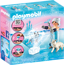 Playmobil ice princess prinses winterbloesem 9353