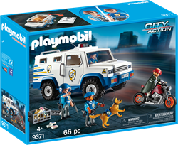 Playmobil City Action Geldtransport 9371