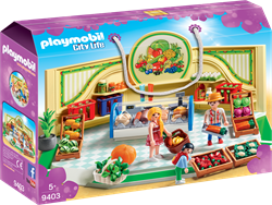 Playmobil City Life Kruidenier 9403