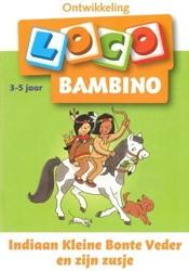 Loco  Bambino educatief spel Indiaan kleine Bonte Veder en zijn zusje