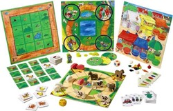 Haba  kinderspel Mijn eerste spelletjesdoos - De grote spelletjesverzameling van HABA 4687